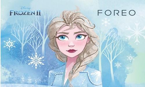 Disney x FOREO LUNA mini 3冰雪奇缘限量款礼盒——用净澈魔法绽现冰雪美肌